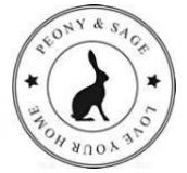 Peony and Sage Logo