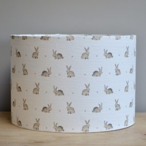 Bunny with Grey Dot 30cm Lampshade